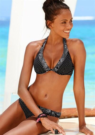s.Oliver Bügel-Bikini in schwarz, Produktansicht