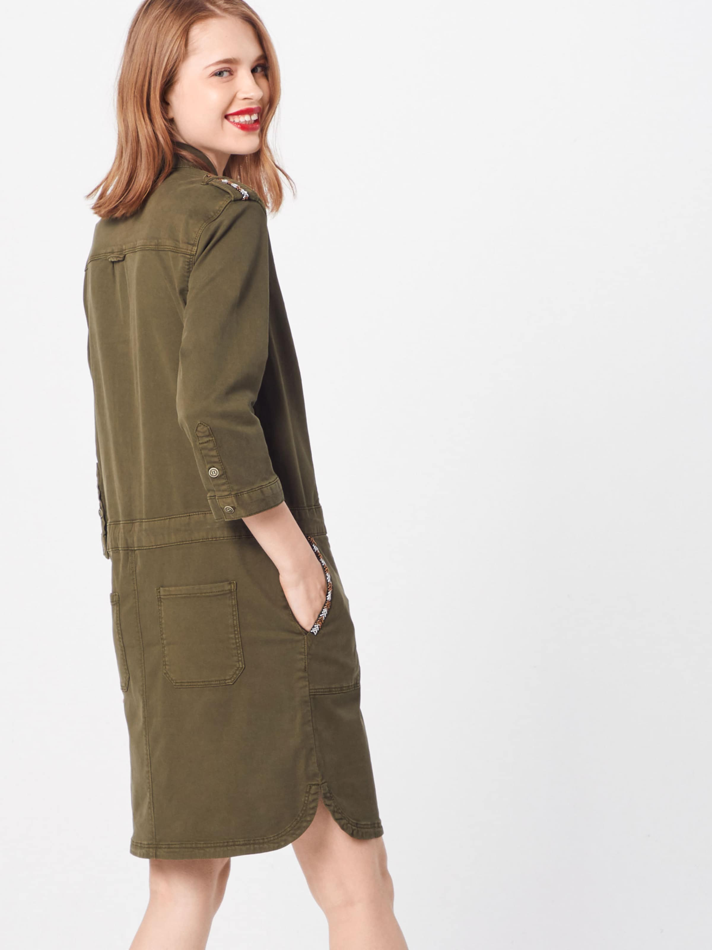 S In Red Label Khaki oliver Kleid j3qAR45L