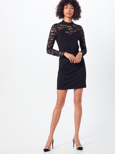 VERO MODA Kleid 'DORA' in schwarz, Modelansicht