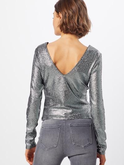 ONLY Koszulka 'LALESSA' w kolorze czarny / srebrnym: Widok od tyłu