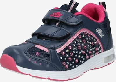 LICO Sneaker in dunkelblau / pink / rosa / rosé / weiß, Produktansicht