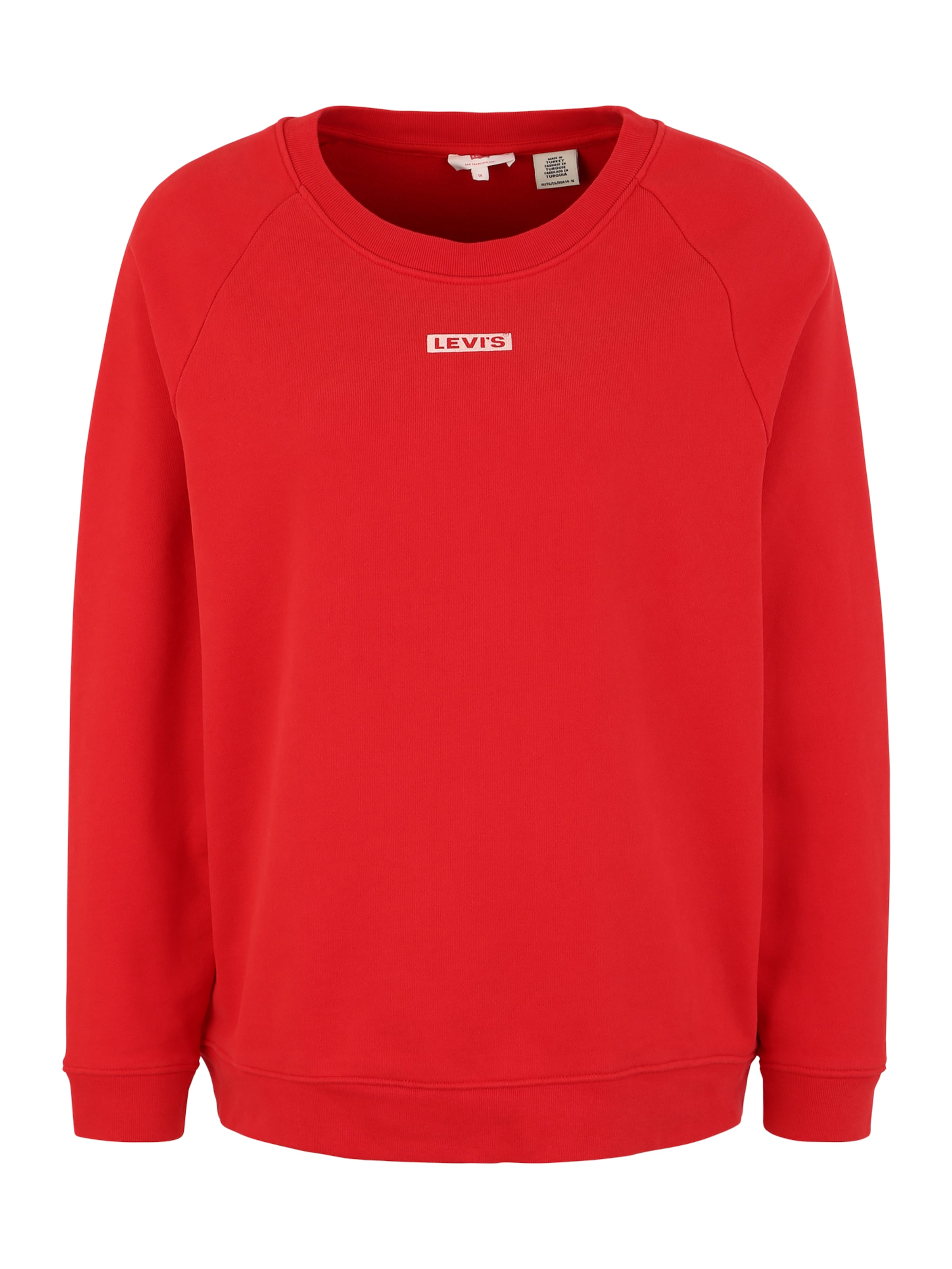 In 'relaxed Plus Graphic' Sweatshirt Levi's® Rot Rj5A4L3