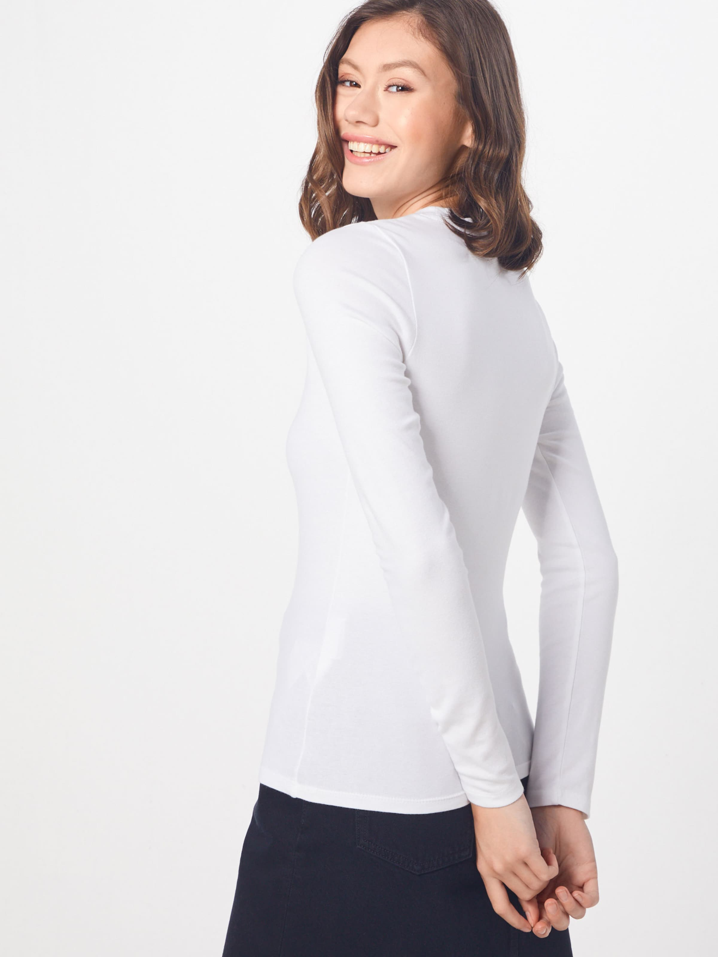 Tee' T shirt 'ls En Blanc Baby Levi's eWIEHDY92