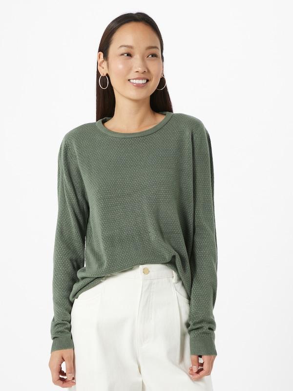 JACQUELINE de YONG Trui 'New Friends' in Groen | ABOUT YOU