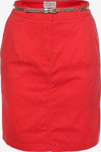 Tom Tailor Polo Team Sommerrock in rot, Produktansicht