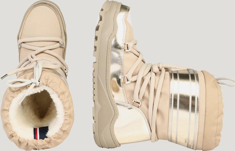 TOMMY Boot HILFIGER | Snow Boot TOMMY im Glamour-Look Schuhe Gut getragene Schuhe c8868a