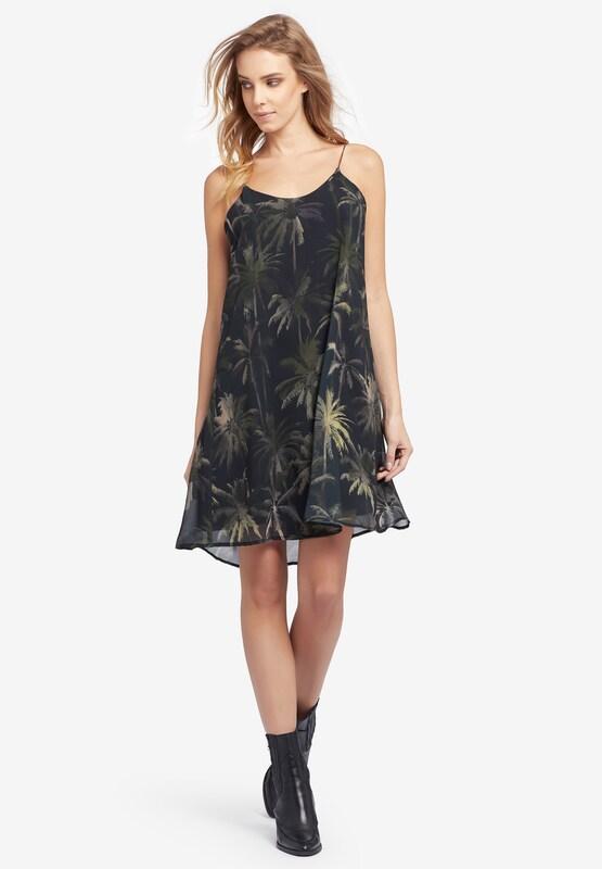 Khujo Kleid 'Jamila' in in in oliv   schwarz  Mode neue Kleidung 83cf3f