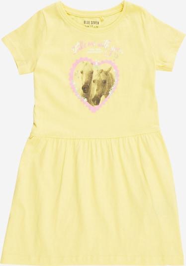 BLUE SEVEN Kleid in gelb / mischfarben, Produktansicht