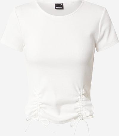 Gina Tricot T-shirt 'Dalia' en blanc cassé, Vue avec produit