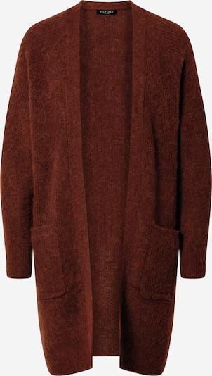 SELECTED FEMME Cardigan 'Lulu' en rouge rouille, Vue avec produit