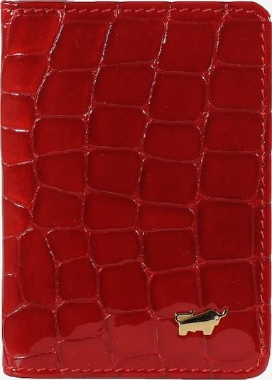 Braun Büffel Etui in de kleur Rood, Productweergave
