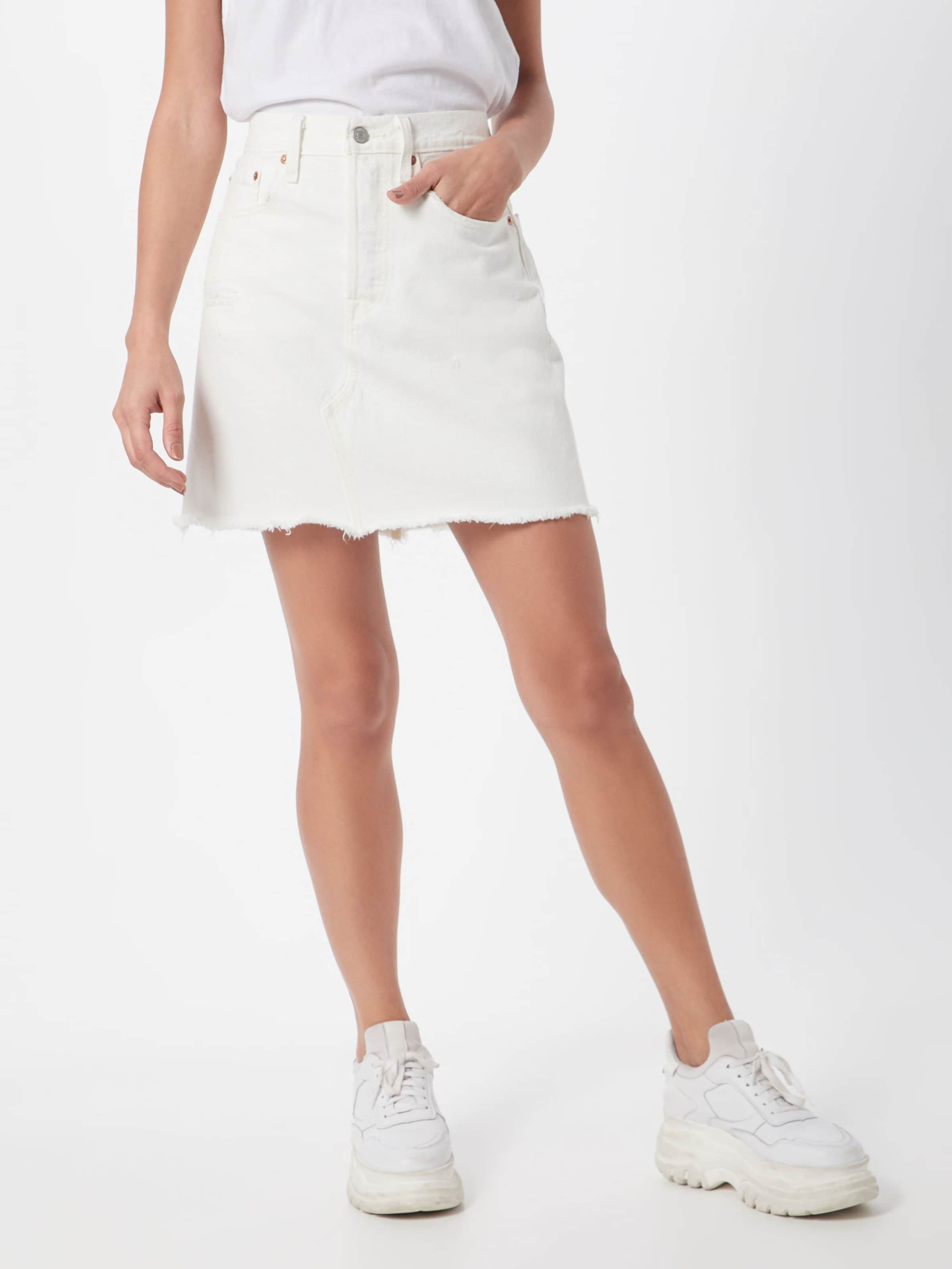 Levi's Jeansrock Skirt' In 'hr Decon Bf Weiß Iconic WEYDH29I