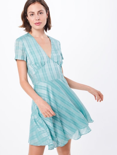 Samsoe Samsoe Sommerkleid 'CINDY' in jade / silber, Modelansicht