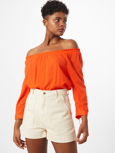 TOM TAILOR Bluse in orange, Modelansicht