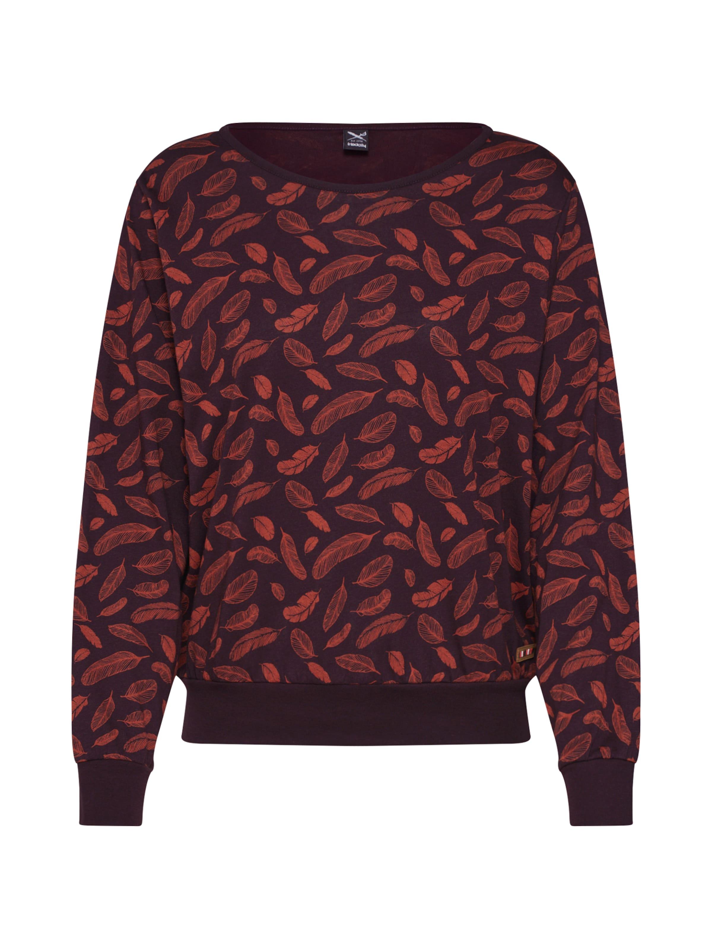 Sweat Aubergine Iriedaily shirt 'vindariel' En uTOkiZPX
