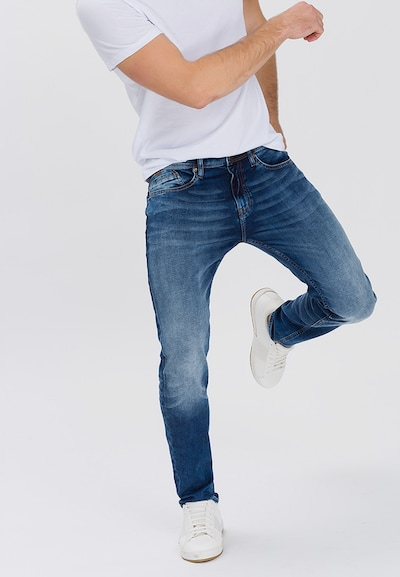 Cross Jeans Jeans 'Jimi' in blue denim: Frontalansicht