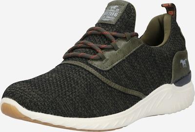 Sneaker bassa MUSTANG di colore verde scuro, Visualizzazione prodotti