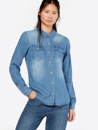VILA Bluza 'VIBISTA' | modra barva, Prikaz modela