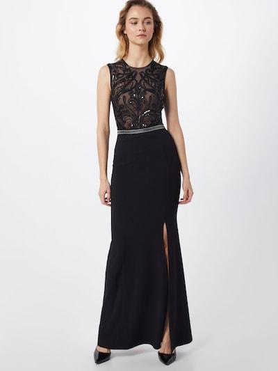 fekete / ezüst Lipsy Estélyi ruhák, Modell nézet