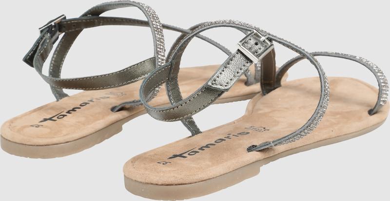 TAMARIS Sandalette mit Ziersteinchen