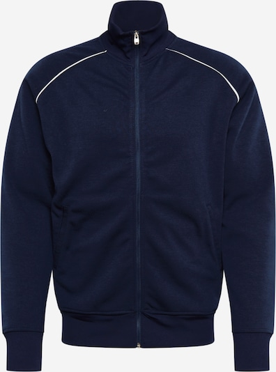 Hailys Men Sweatjacke 'Fred' in navy, Produktansicht