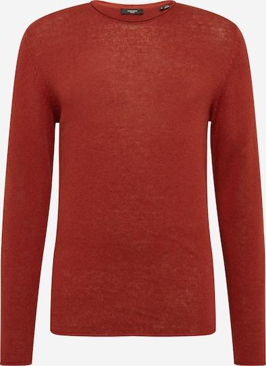 JACK & JONES Pullover in rostrot, Produktansicht