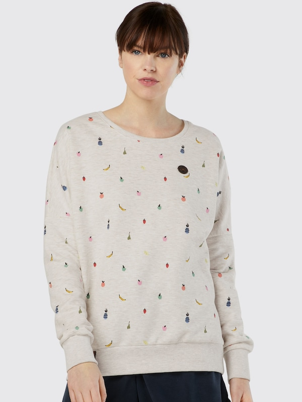 naketano Sweatshirt mit Print