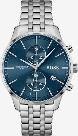 BOSS Casual Analoginen kello 'ASSOCIATE' värissä sininen / hopea, Tuotenäkymä