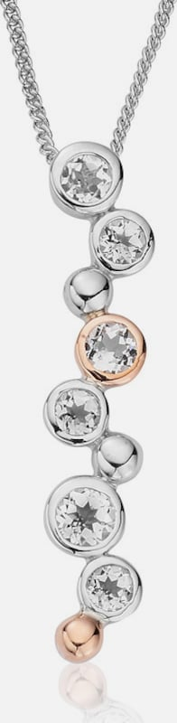 CLOGAU Hangers 'Celebration' in de kleur Rose-goud / Zilver, Productweergave