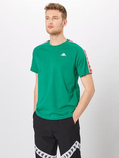 KAPPA Shirt 'ERNESTO' in grün / rot / weiß, Produktansicht