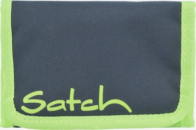 Satch Geldbörse in dunkelblau / grün, Produktansicht