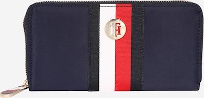 TOMMY HILFIGER Geldbörse 'Poppy' in dunkelblau / rot / weiß, Produktansicht
