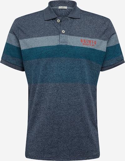 TOM TAILOR Poloshirt in blau / mischfarben, Produktansicht