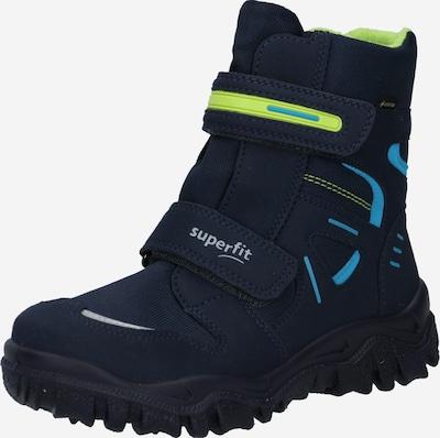 SUPERFIT Snowboots 'HUSKY' in blau / grün, Produktansicht