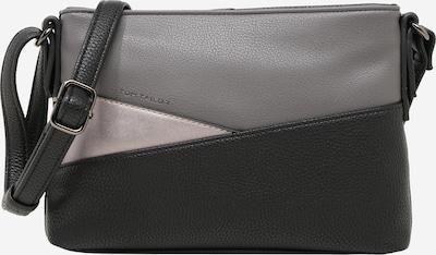 TOM TAILOR Tasche 'Elina' in grau / hellgrau / schwarz, Produktansicht