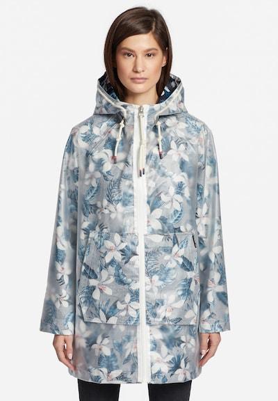 khujo Functionele mantel 'Evelyna' in de kleur Hemelsblauw / Wit, Modelweergave