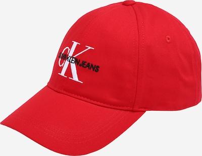 Calvin Klein Jeans Cap 'MONOGRAM' in rot, Produktansicht