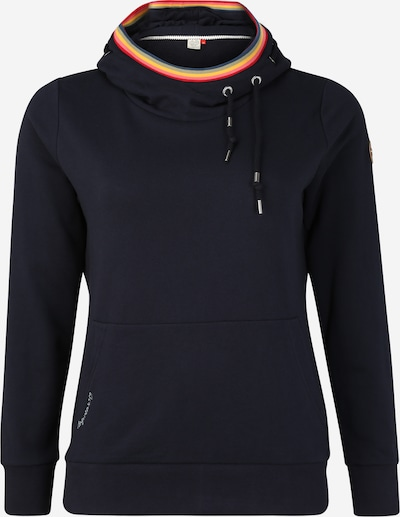 Ragwear Plus Sweatshirt 'ERMELL PLUS' in navy, Produktansicht
