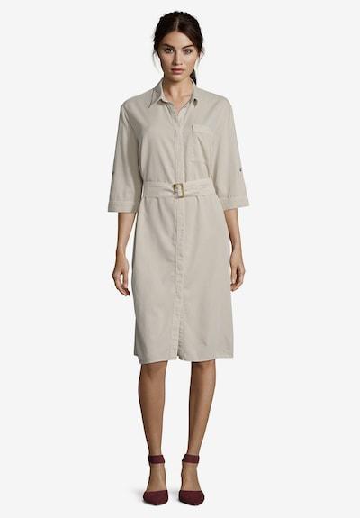 Betty & Co Hemdblusenkleid mit Streifen in beige, Modelansicht