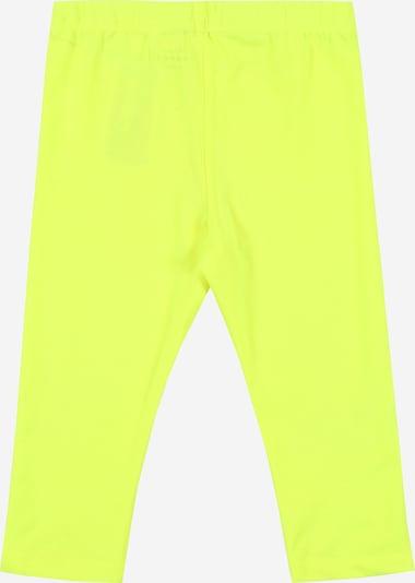 NAME IT Leggings 'VIVIAN' en jaune fluo, Vue avec produit