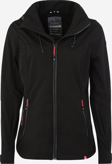 KILLTEC Outdoorjacke 'Noana' in schwarz, Produktansicht