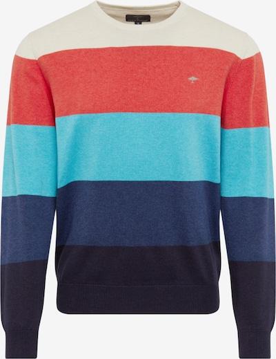 FYNCH-HATTON Pullover in navy / mischfarben, Produktansicht
