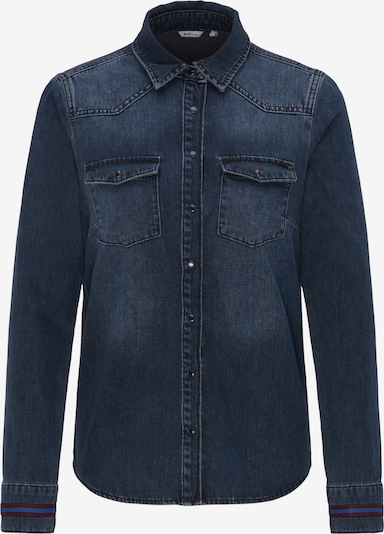 MUSTANG Hemd ' Denim Shirt ' in blue denim, Produktansicht