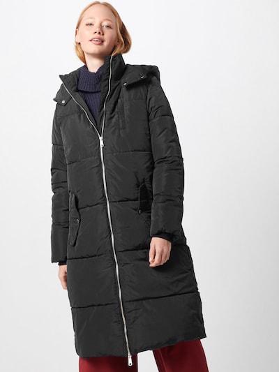 modström Wintermantel 'Phoebe' in de kleur Zwart, Modelweergave