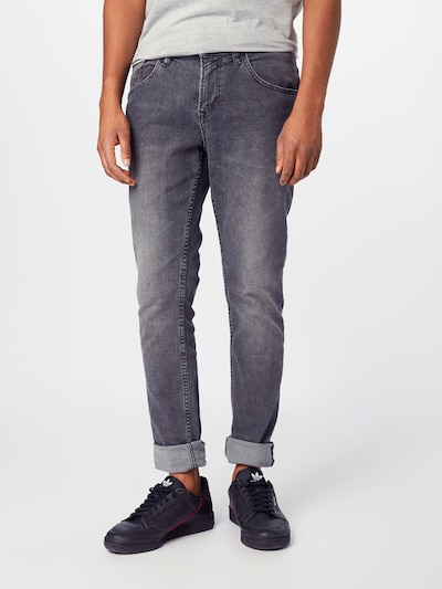 TOM TAILOR DENIM Jeans 'skinny CULVER' in de kleur Black denim, Modelweergave