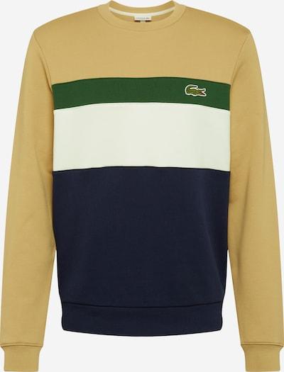 LACOSTE Bluzka sportowa w kolorze granatowy / jasnobrązowy / zielony / białym, Podgląd produktu