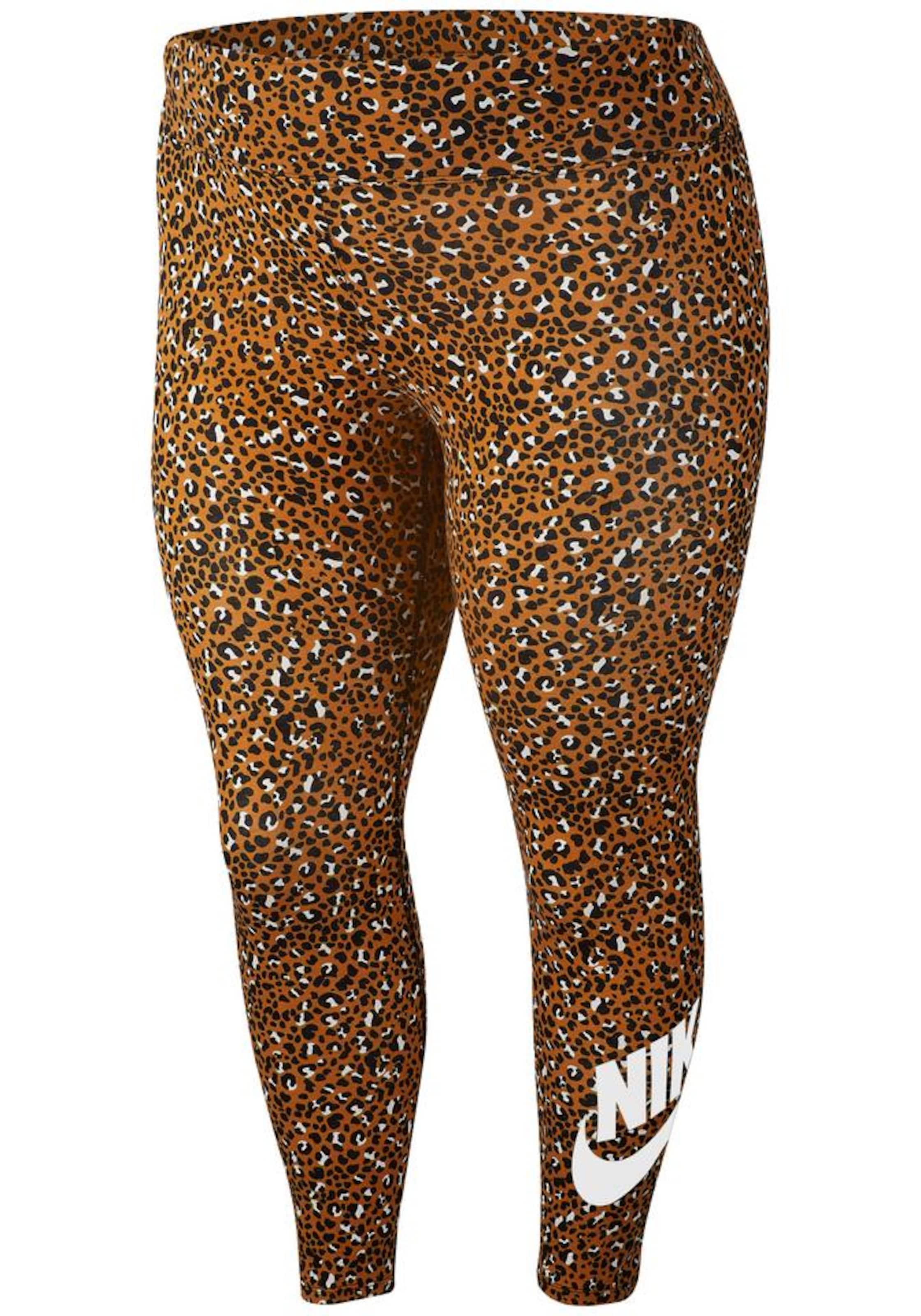 In Nike Leggings CognacSchwarz Sportswear Weiß 8kXPN0nwO