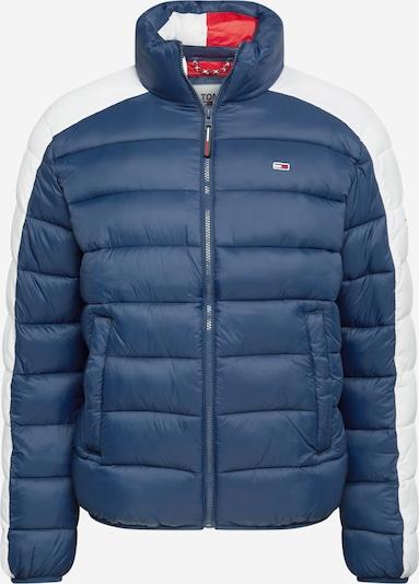 Tommy Jeans Winterparka in de kleur Navy / Wit, Productweergave