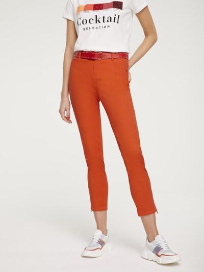 heine Jeans 'Amirela' in orangerot, Modelansicht