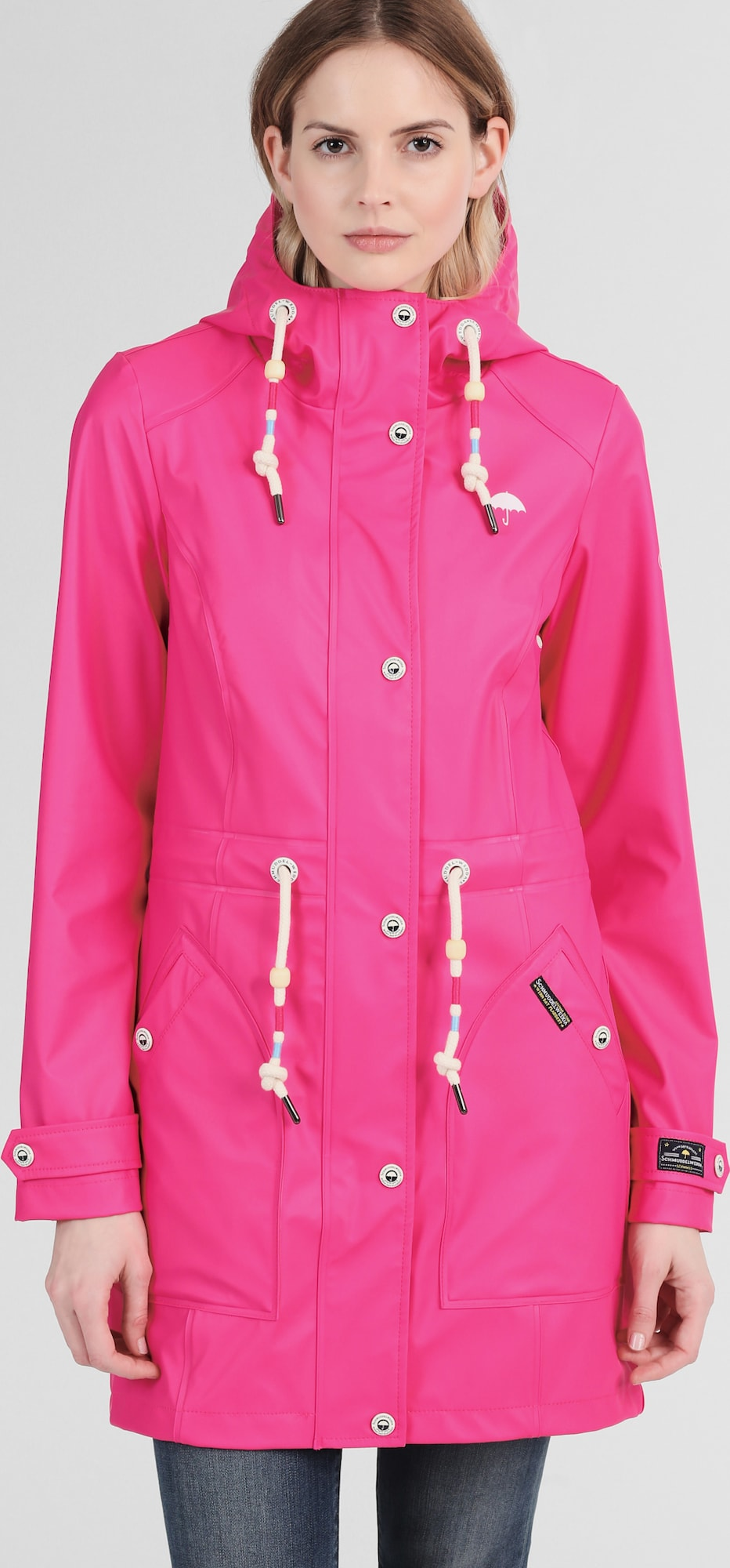 schmuddelwedda damen parka in pink about you. Black Bedroom Furniture Sets. Home Design Ideas